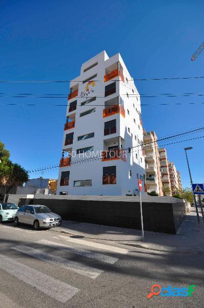 El complejo residencial con vi