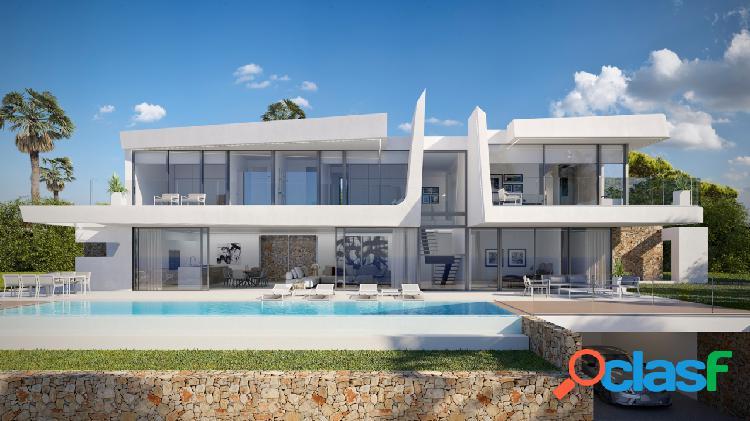 Esta villa de diseño moderno c