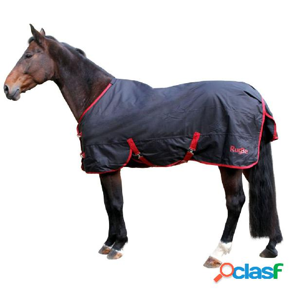 Kerbl Manta de caballo RugBe Zero.1 negra 115 cm 328663