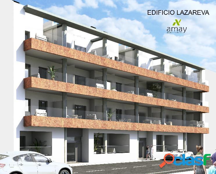Lazareva es un edificio de 30