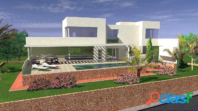 Lujosa villa de nueva construc