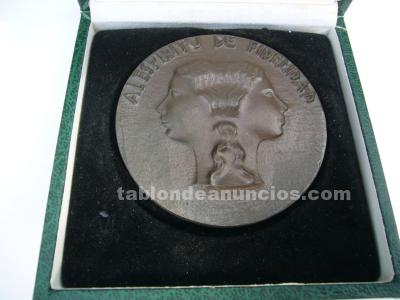 Medallas fidelidad ctne en bronce