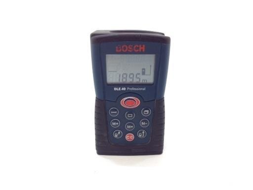 Medidor Laser Bosch Verde Dle 40