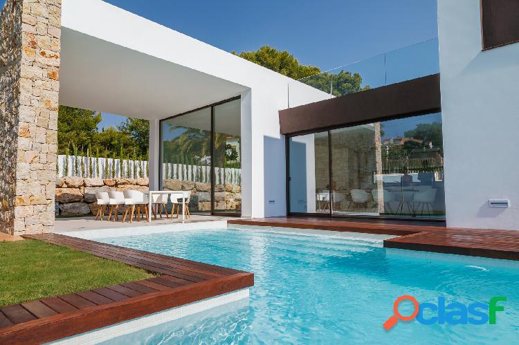Nueva villa de diseño moderno