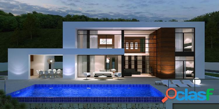 Una hermosa villa de diseño nu