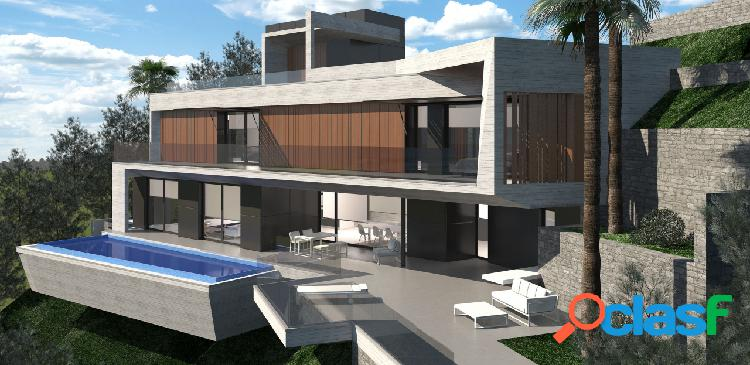 Una villa de diseño que se con
