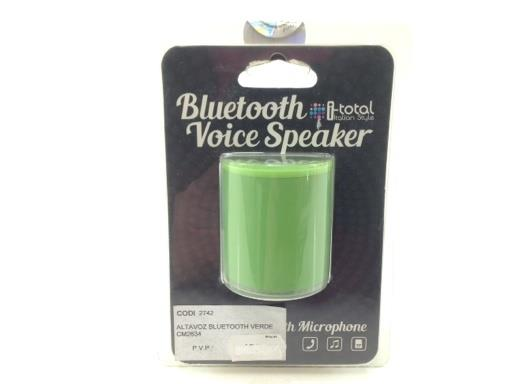 Altavoz Portatil Bluetooth Itotal Voice