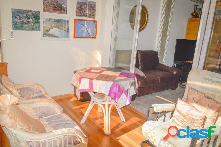 Amplio piso de 4 dormitorios a 250m de la playa del Cura en
