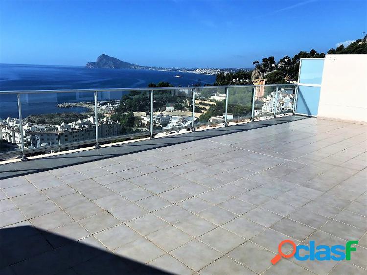 Atico en Mascarat con gran terraza con espectaculares vistas