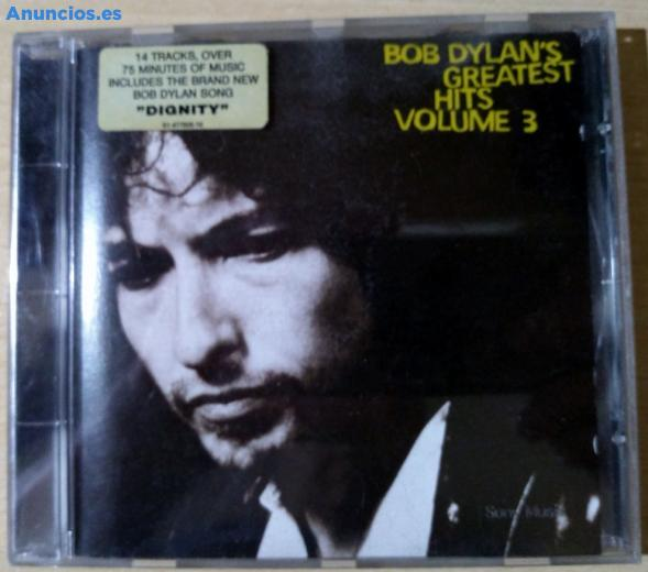 Bob Dylan S Greatest Hits Volume 3 CD