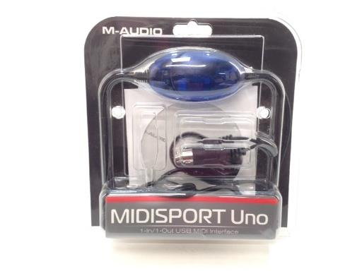 Cables Audio M Midisport Uno