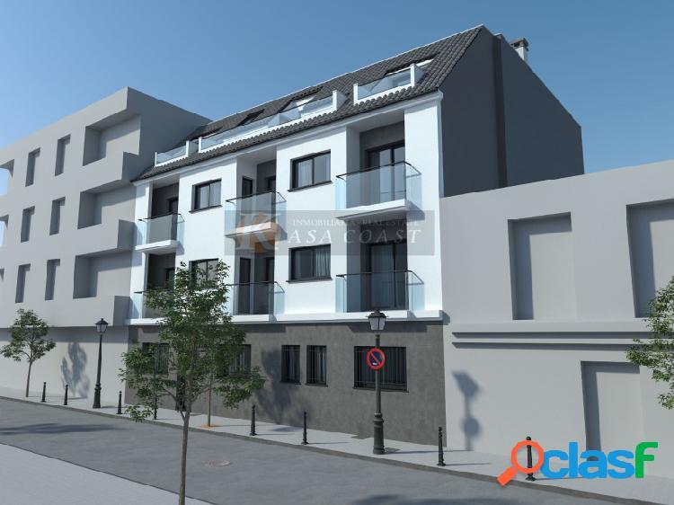 Promoción de pisos de 2 dormitorios en construcción en