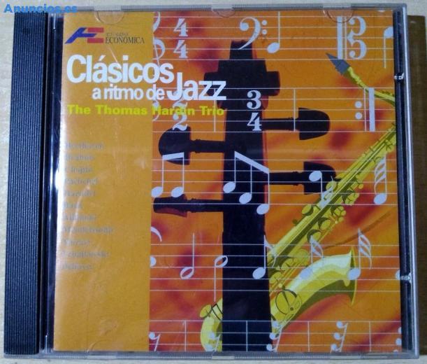 The Thomas Hardin Trio CláSicos A Ritmo De Jazz CD