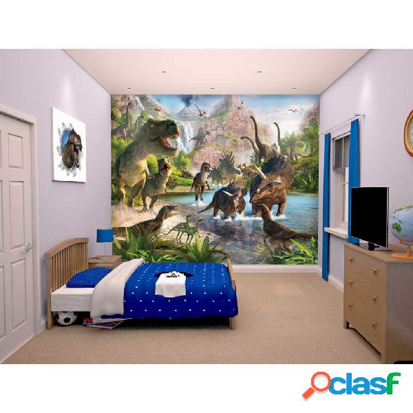 Walltastic Papel de pared fotográfico Dinosaur Land 41745