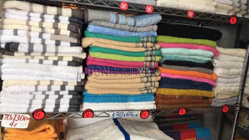 Toallas 100% algodón de gran calidad
