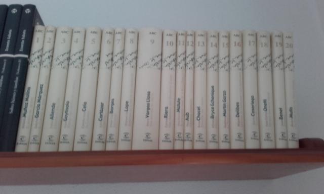 VENDO COLECCION COMPLETA 20 LIBROS ABC DE LA NARRATIVA SIGLO
