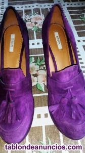 Vendo zapatos de ante geox, solo puestos una vez, núm 38