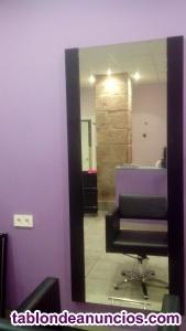 Venta mobiliario peluquería 4 servicios