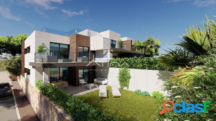 Apartamentos de nueva construcción con arquitectura