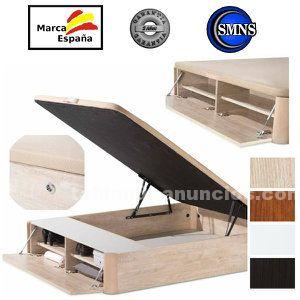 Canapé abatible barato de madera 150x190 mod.norma