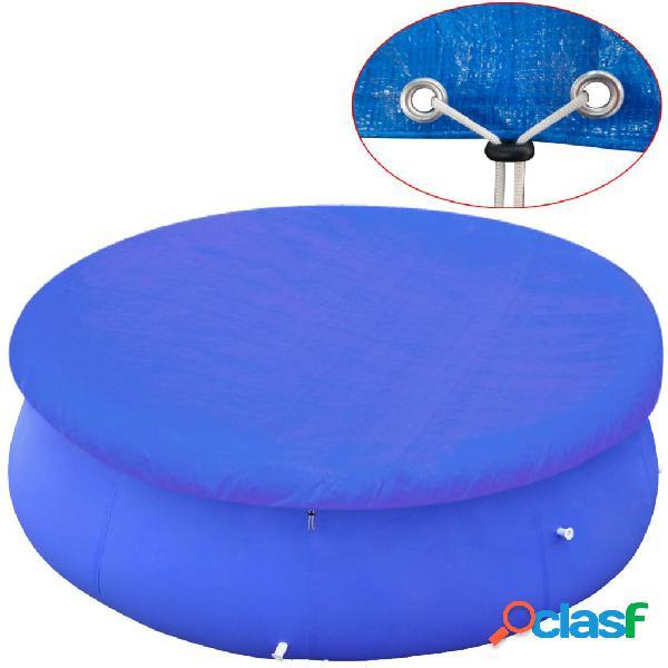Cubierta de piscina PE 360 - 367 cm 90 g/m² redonda