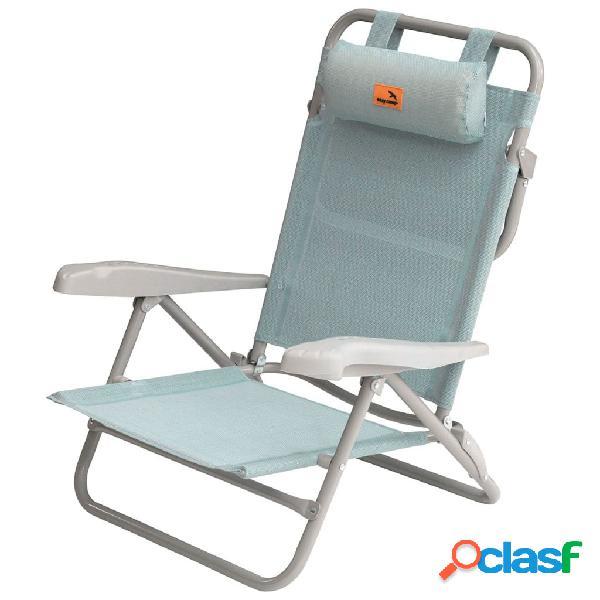 Easy Camp Silla de playa Breaker azul 50x65x77 cm 420035