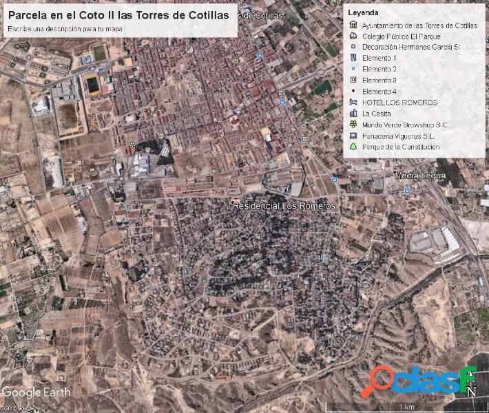 Parcela en Urbanización El coto II