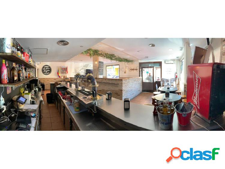 Traspaso Bar Restaurante de 145m² San Blas próximo al