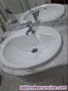 Vendo mueble de baño en buen uso