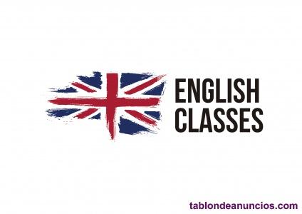 Clases de inglés, presencial/online