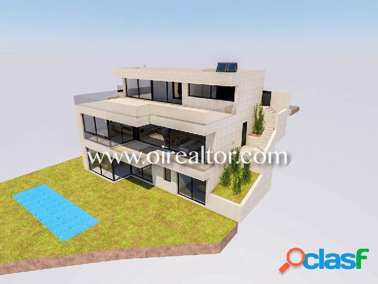 Proyecto de villa unifamiliar con magnifica arquitectura en