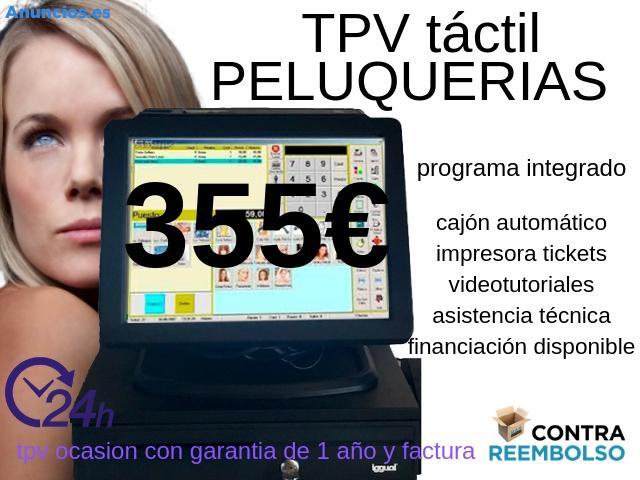 TPV TÁCTIL PELUQUERÍAS