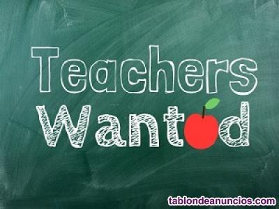 English teacher needed in murcia for company classes!