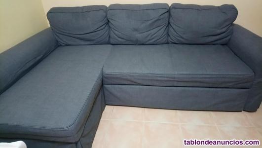 Sofa cama 3 plazas con divan