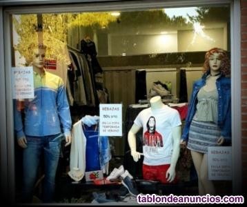 Traspaso tienda de moda mujer y hombre