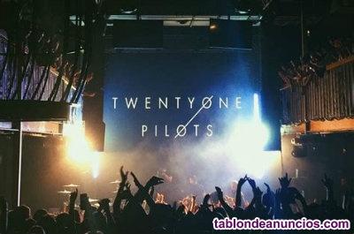 Vendo entradas para el concierto de twenty one pilots en