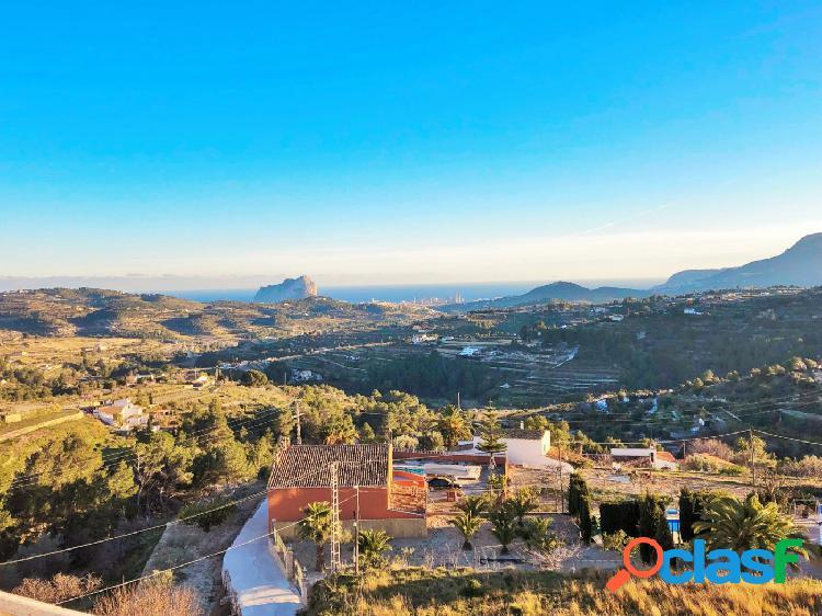 Atico con espectaculares vistas al mar en Benissa