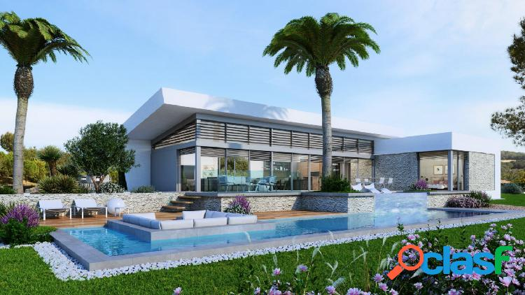Modernas villas de lujo de 3 dormitorios en un Resort de