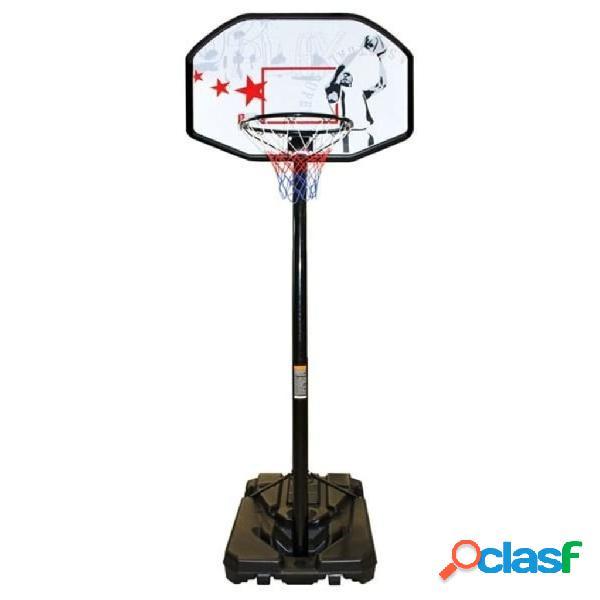 New Port Canasta de baloncesto ajustable 200-305 cm
