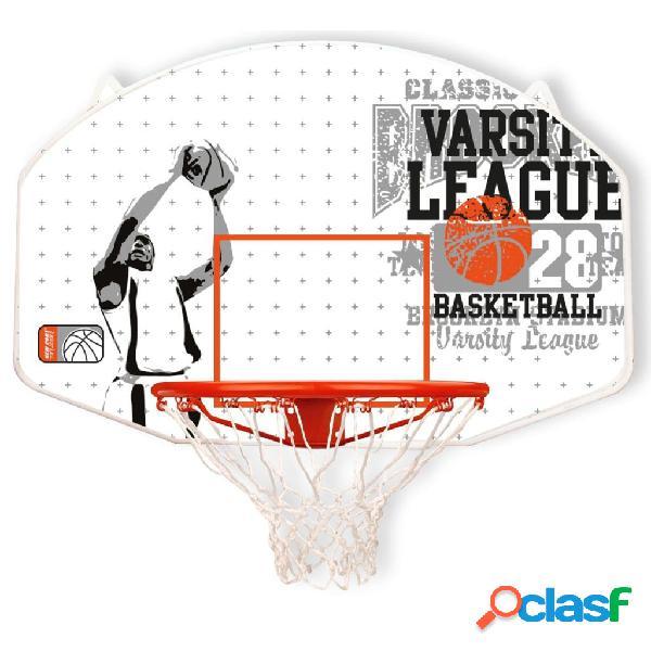 New Port Canasta de baloncesto aro de fibra de vidrio