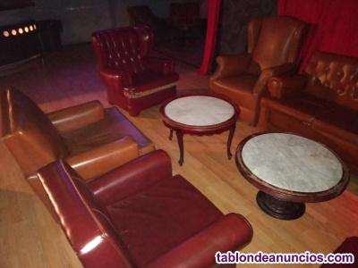 Sofas y mesas muebles vintage