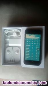 Iphone se 16gb appel plata/negro