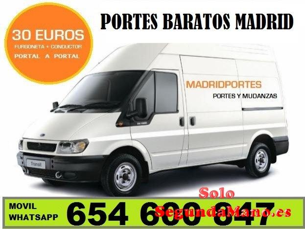 TRANSPORTES EN MONCLOA (())MADRID PORTES