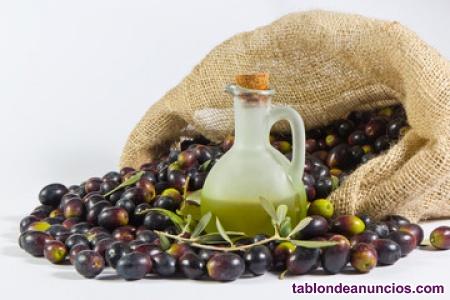Aceite de oliva virgen extra fresco de temporada