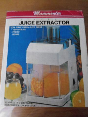 Extractor de jugos (sin usar)