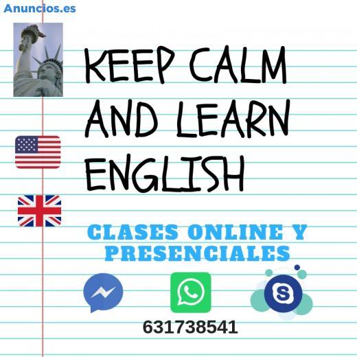 CLASES DE INGLÉS: ESO, BACHILLERATO
