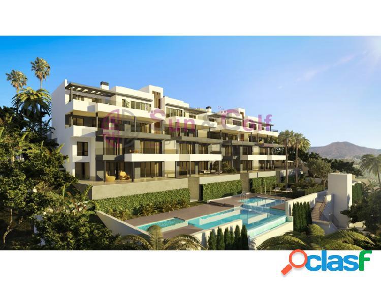 Apartamentos 1, 2, 3 y 4 habitaciones desde 163,000 Euros