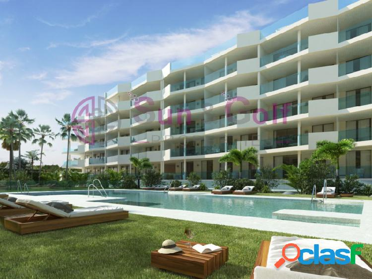 Apartamentos de 1, 2 y 3 habitaciones desde 140,300 Euros