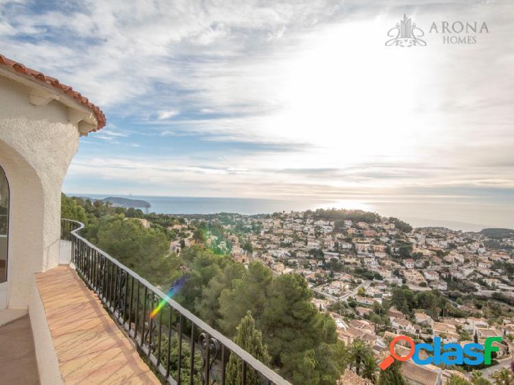 Gran chalet de 410 metros cuadrados con las mejores vistas