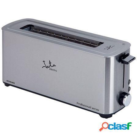 Tostador de pan jata tt1043 - 1000w - cuerpo acero inox -
